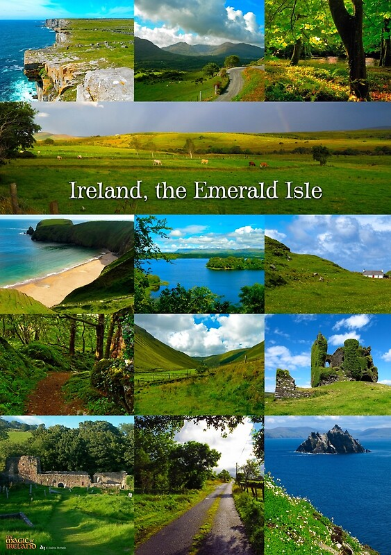 Quot Ireland Emerald Isle Quot Photographic Prints By Andr 233 S