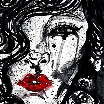 rote Lippen von doriana