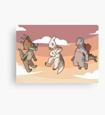 Mini Dinsaurs Canvas Print