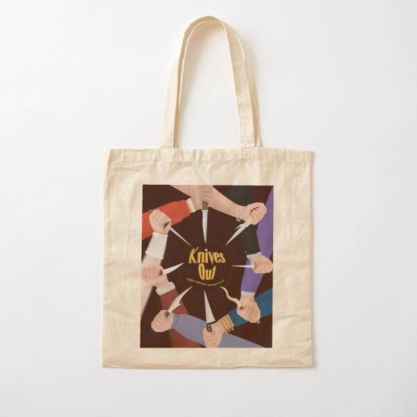 KNIVES OUT Cotton Tote Bag