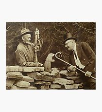 The First Groundhog Day Photographic Print