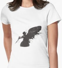 when forever comes crashing Womens Fitted T-Shirt