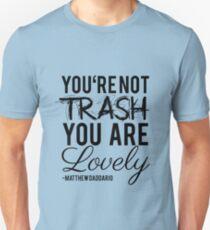 Matthew Daddario - Trash Unisex T-Shirt