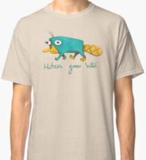 Perry the Platypus Classic T-Shirt