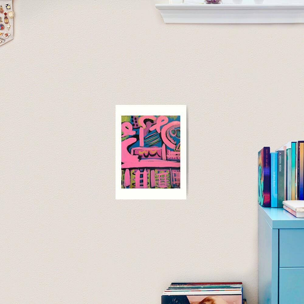 Hashtag Love  Art Print