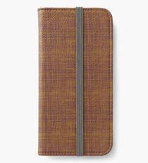 Brown color iPhone Wallet/Case/Skin