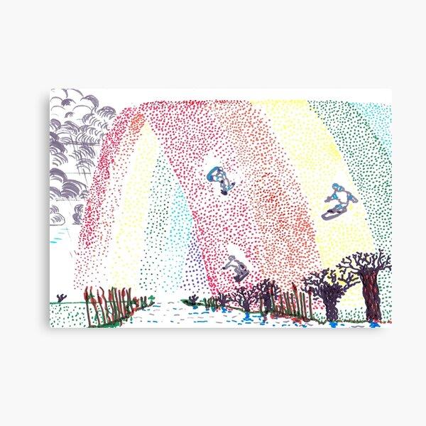 Rainbow Miracle Canvas Print