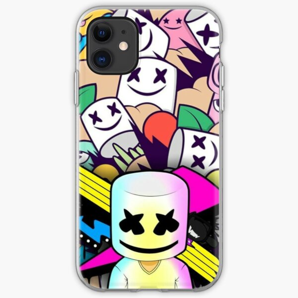 Electro Party Marshmellow iPhone Soft Case