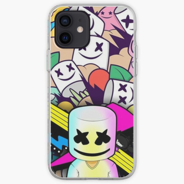 Electro Party Marshmellow Funda blanda para iPhone