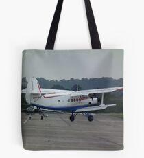 Antonov AN2 landing Tote Bag