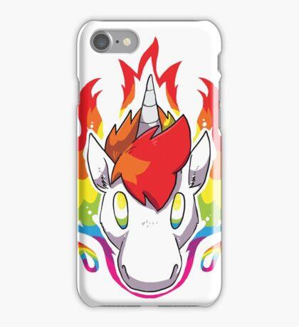 Rainbow Flames iPhone Case/Skin