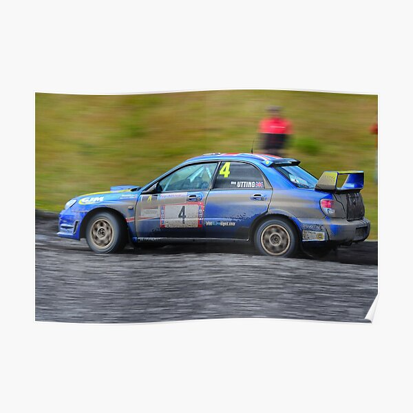 Subaru Impreza N12B Poster