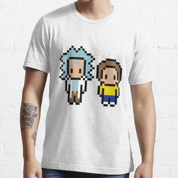 8 Bit Rick & Morty Essential T-Shirt