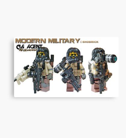 Modern Military CIA Canvas Print
