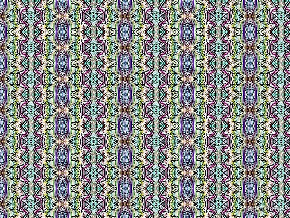 geometric pattern 1a by mondimeeja