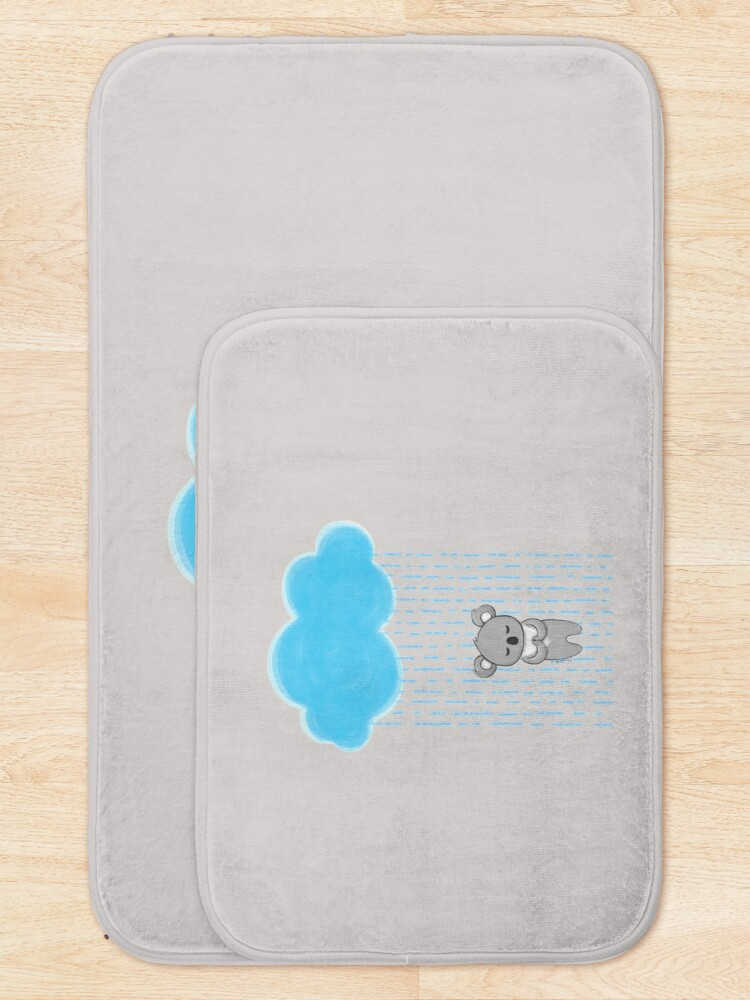 Alternate view of Prayer for Australia - 100% proceeds go to the Koala Hospital Bath Mat