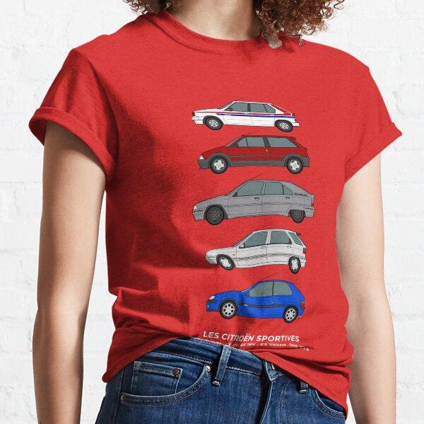 Citroen Hot Hatchbacks Art de voiture classique T-shirt classique