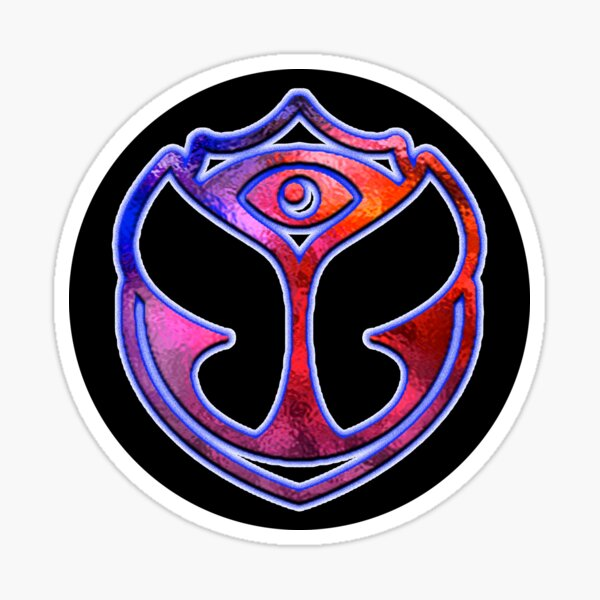 Tomorrowland Sticker