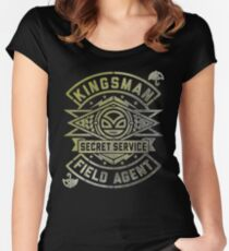 Kingsmen Women's Fitted Scoop T-Shirt
