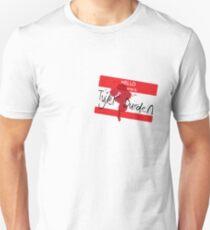 Hello my name is Tyler Durden T-Shirt