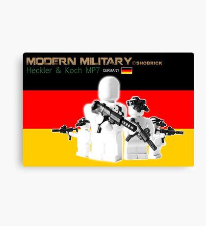 Modern Military MP7 Canvas Print