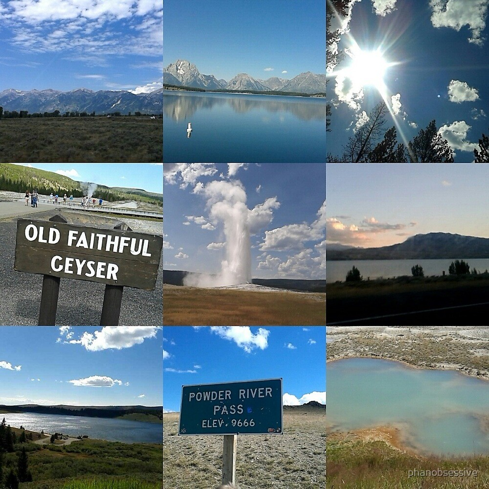 Yellowstone Vaction Pictures 2015 by phanobsessive