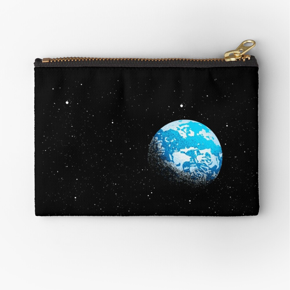 From the Moon Zipper Pouch