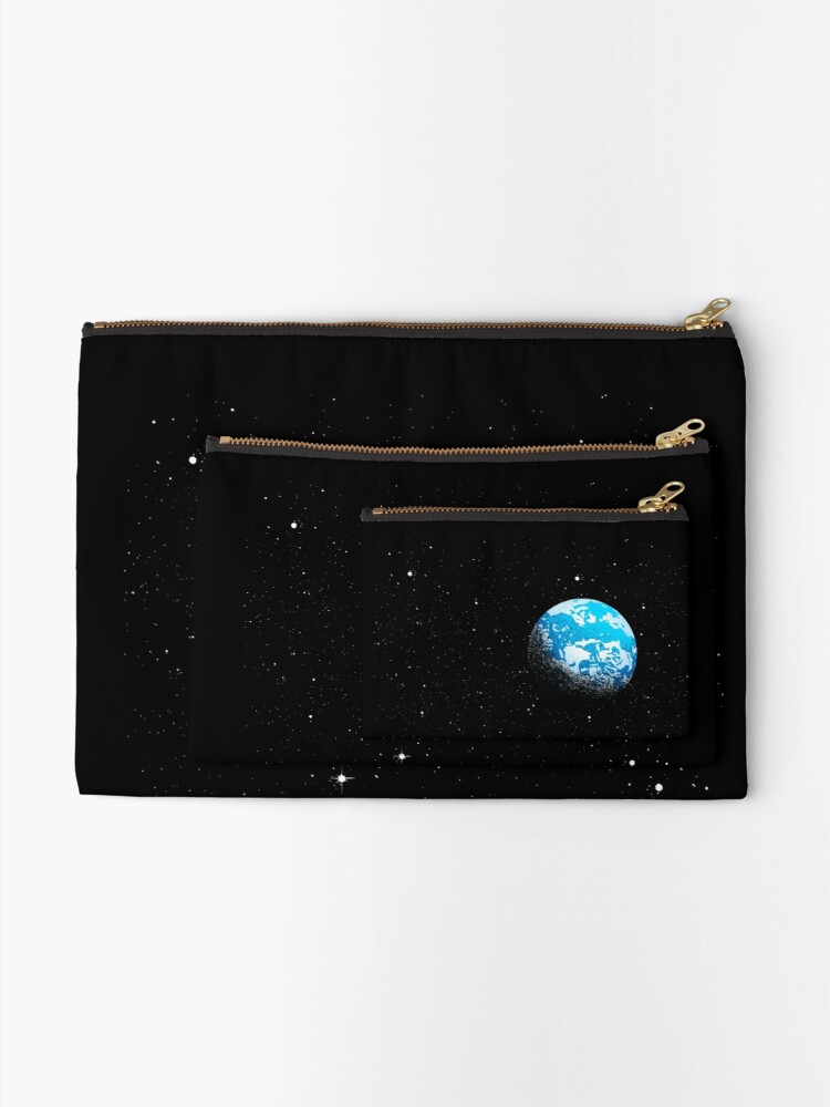 Alternate view of From the Moon Zipper Pouch