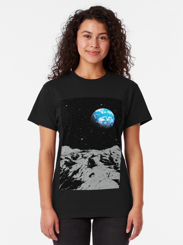 Alternate view of From the Moon Classic T-Shirt
