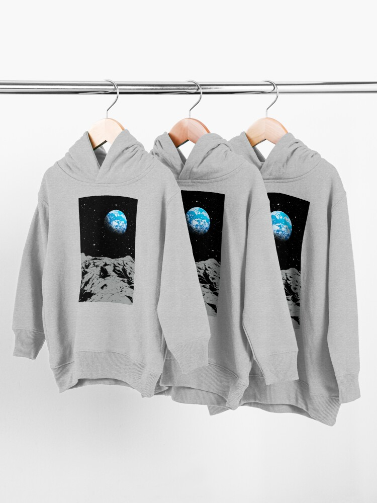 Alternate view of From the Moon Toddler Pullover Hoodie