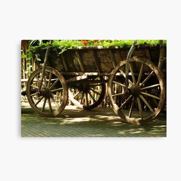 Sunny Wheels Canvas Print