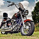 1987 Custom Harley Softail by Gary Paakkonen