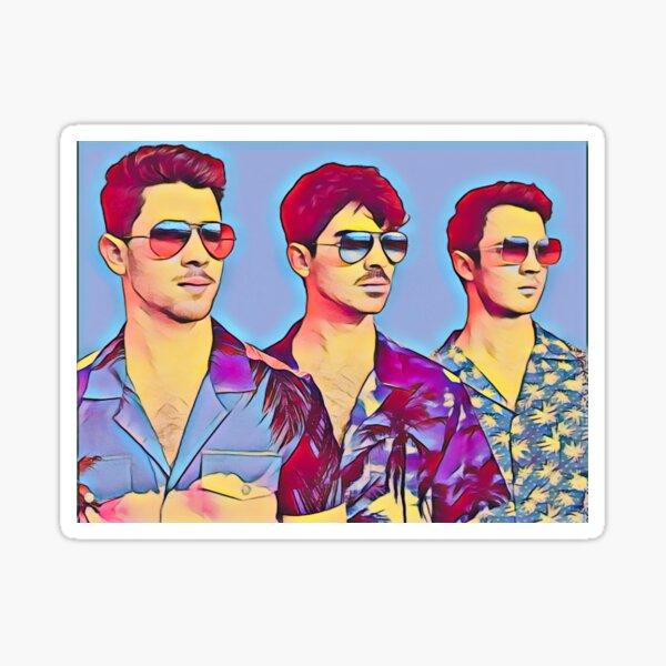 Jonas Brothers Cool Fanart Pegatina
