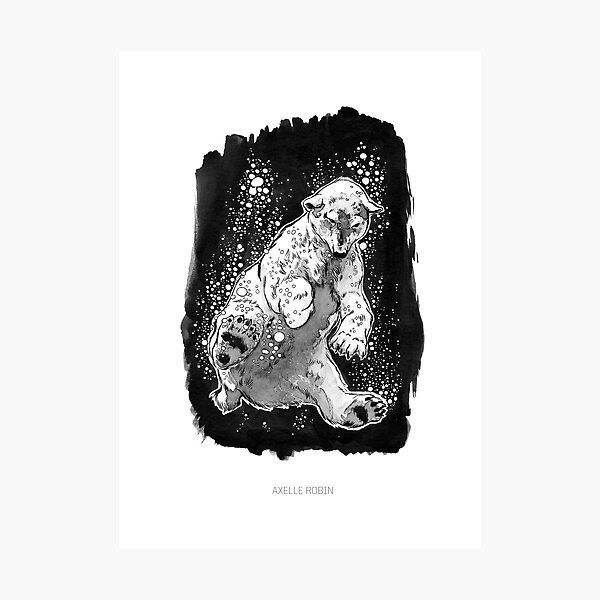Ink 2019 - Polar Bear Photographic Print