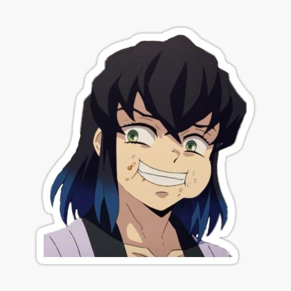 Inosuke from demon slayer Sticker