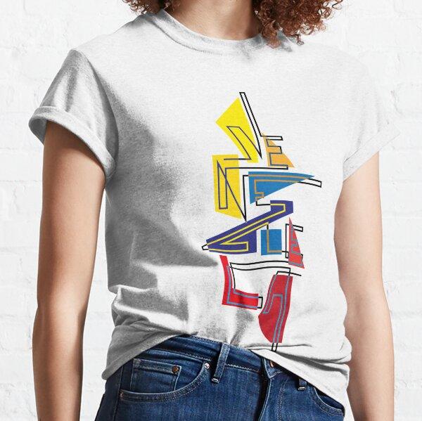 Lettering Venezuela gráfica tricolor Camiseta clásica