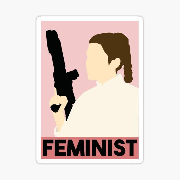 Feminist Leia Sticker