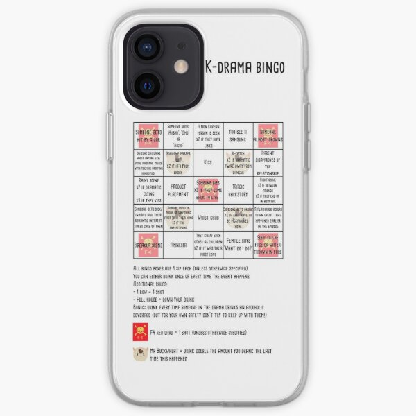 K-drama bingo  iPhone Soft Case