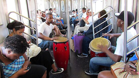 Subway Music by Alberto  DeJesus