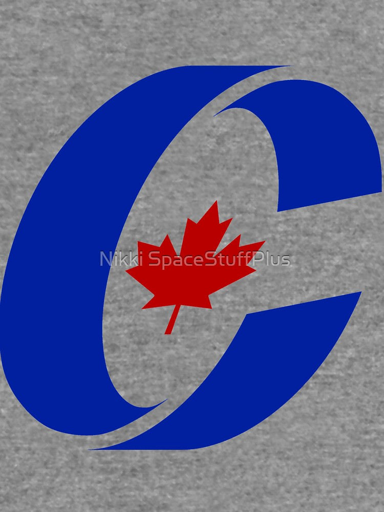 Conservative Party Of Canada Logo Lightweight Hoodie By