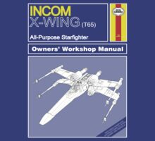 NEW Owners Manual - X-Wing