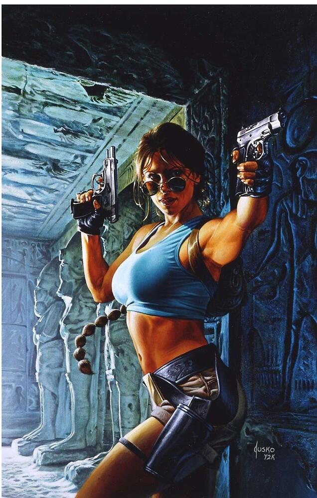Lara Croft by cMhz