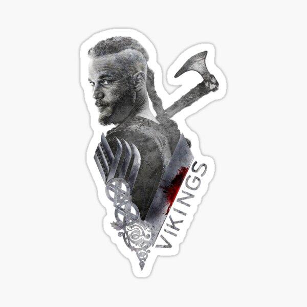Vikings - Ragnar Lothbrok  Sticker