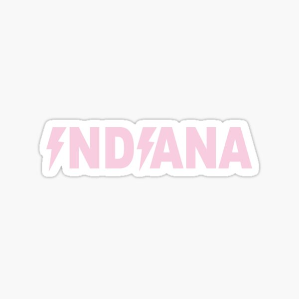 Indiana Lightning  Sticker