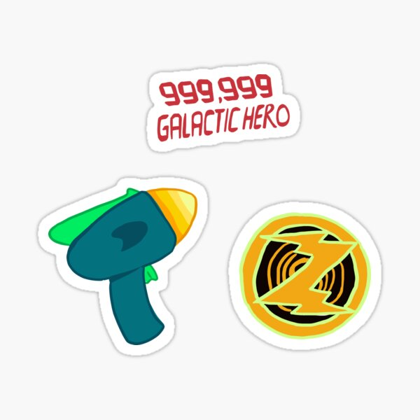 Galactic Hero Pack Sticker