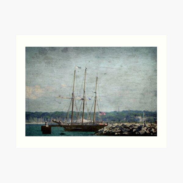 Pirates Ship © Art Print