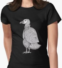 This is a penguin - vulture - or just a similar bird;) Fitted T-Shirt