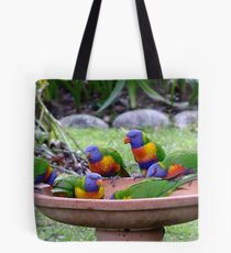 A Rainbow of Colour Tote Bag