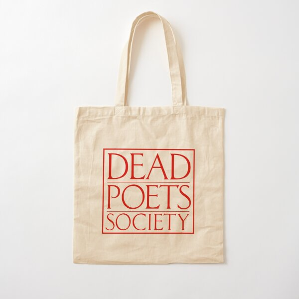 Dead Poets Society Cotton Tote Bag