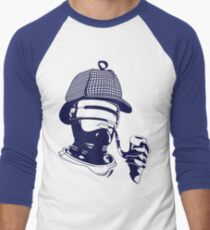 Sherlock Holmes and the Robocop Case Men's Baseball ¾ T-Shirt